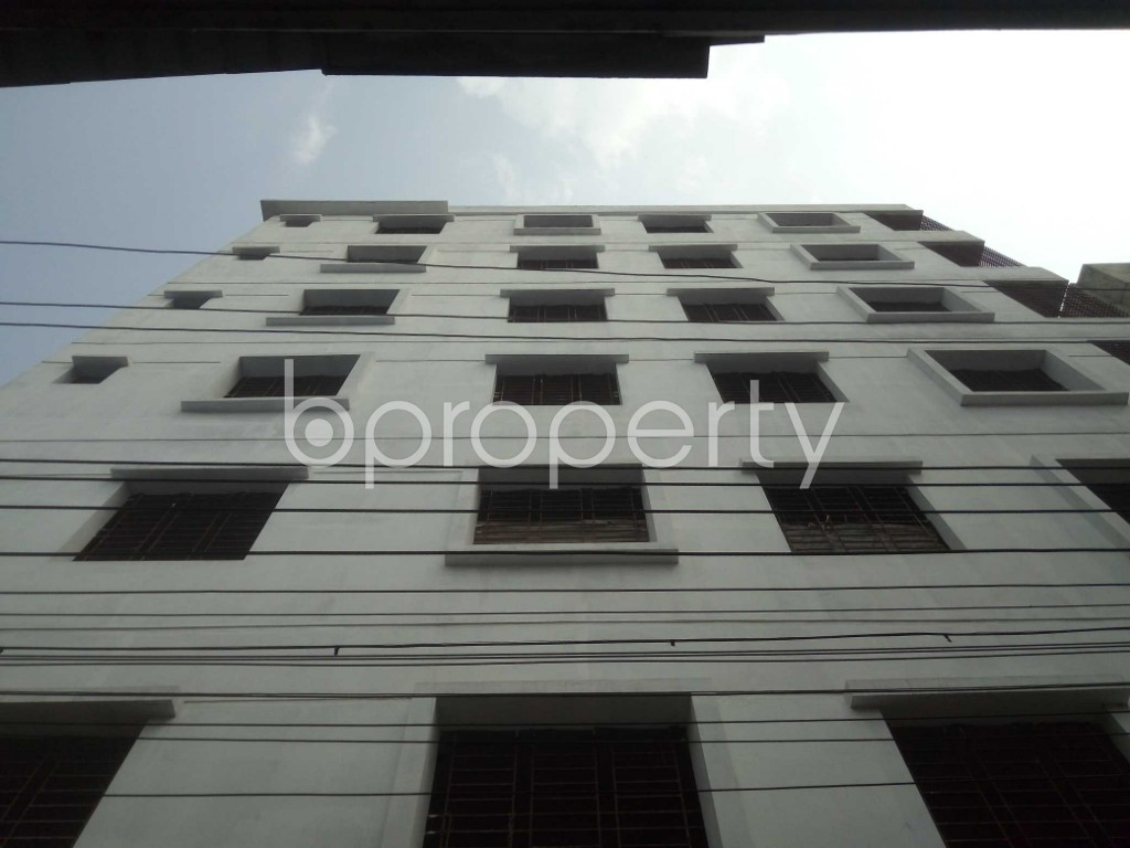 Outside view - 4 Bed Apartment for Sale in Badda, Dhaka - 1889036