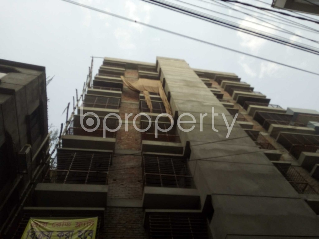 Outside view - 3 Bed Apartment for Sale in Badda, Dhaka - 1889052