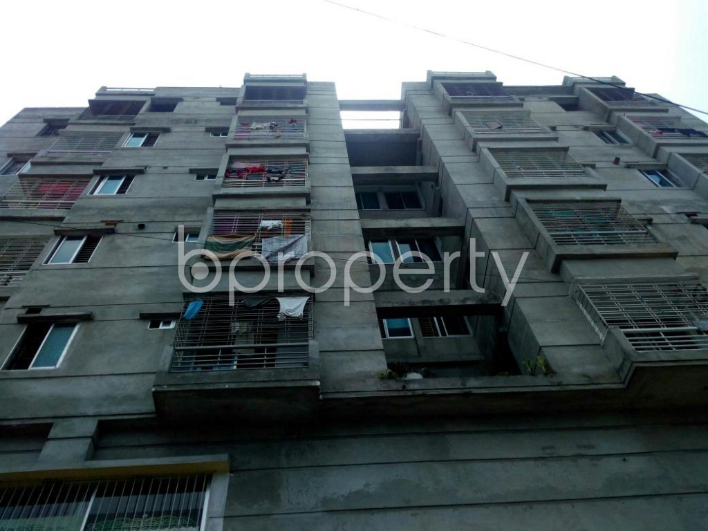 Front view - 2 Bed Apartment for Sale in Bagichagaon, Cumilla - 1889078