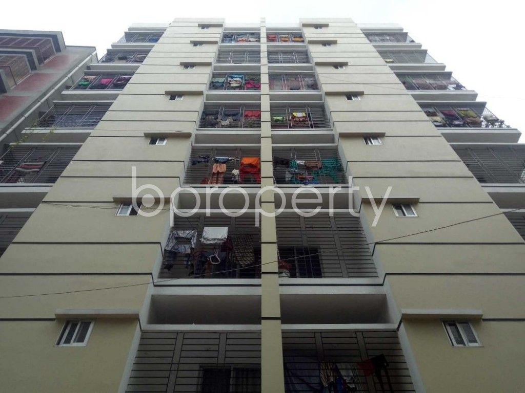 Front view - 3 Bed Apartment for Sale in Banasree, Dhaka - 1889082