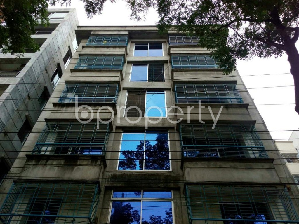 Front view - 3 Bed Apartment to Rent in Bashundhara R-A, Dhaka - 1889096