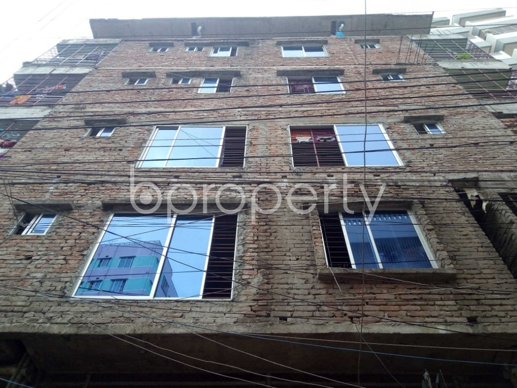 Front view - 3 Bed Apartment to Rent in Mirpur, Dhaka - 1889098