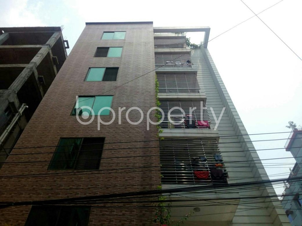 Front view - 1 Bed Apartment to Rent in Bashundhara R-A, Dhaka - 1889117