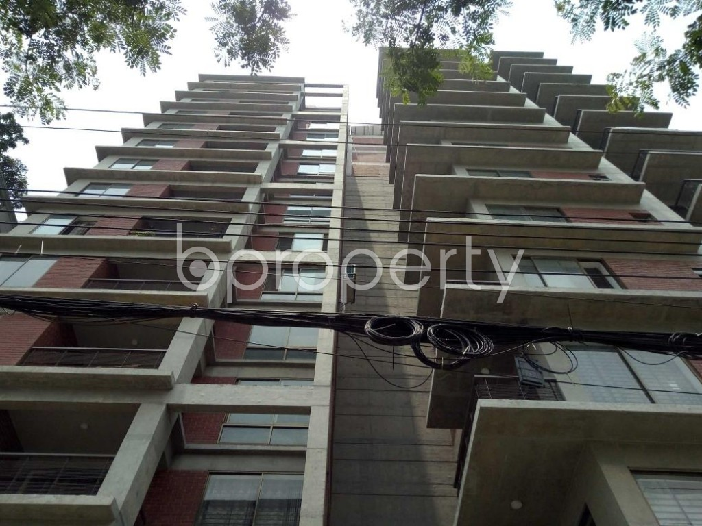 Front view - 3 Bed Apartment for Sale in Bashundhara R-A, Dhaka - 1889121