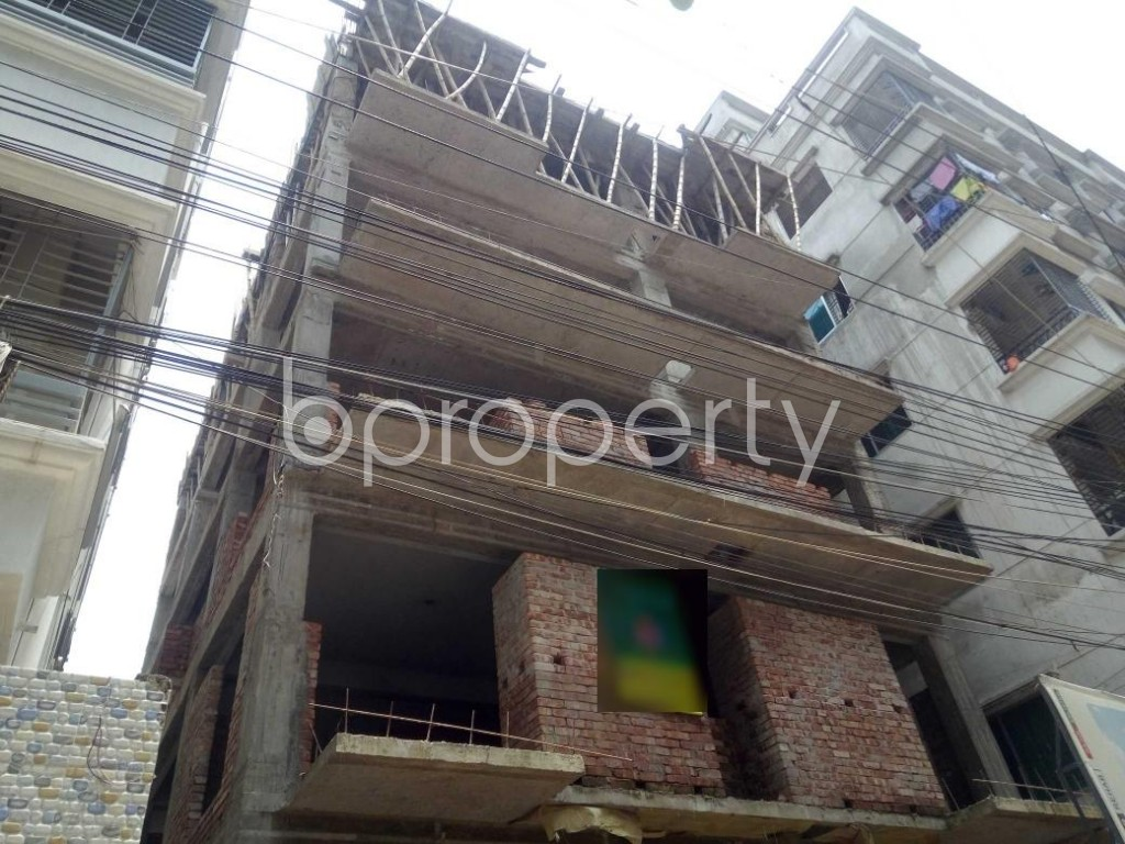 Outside view - 3 Bed Apartment for Sale in Banasree, Dhaka - 1889131