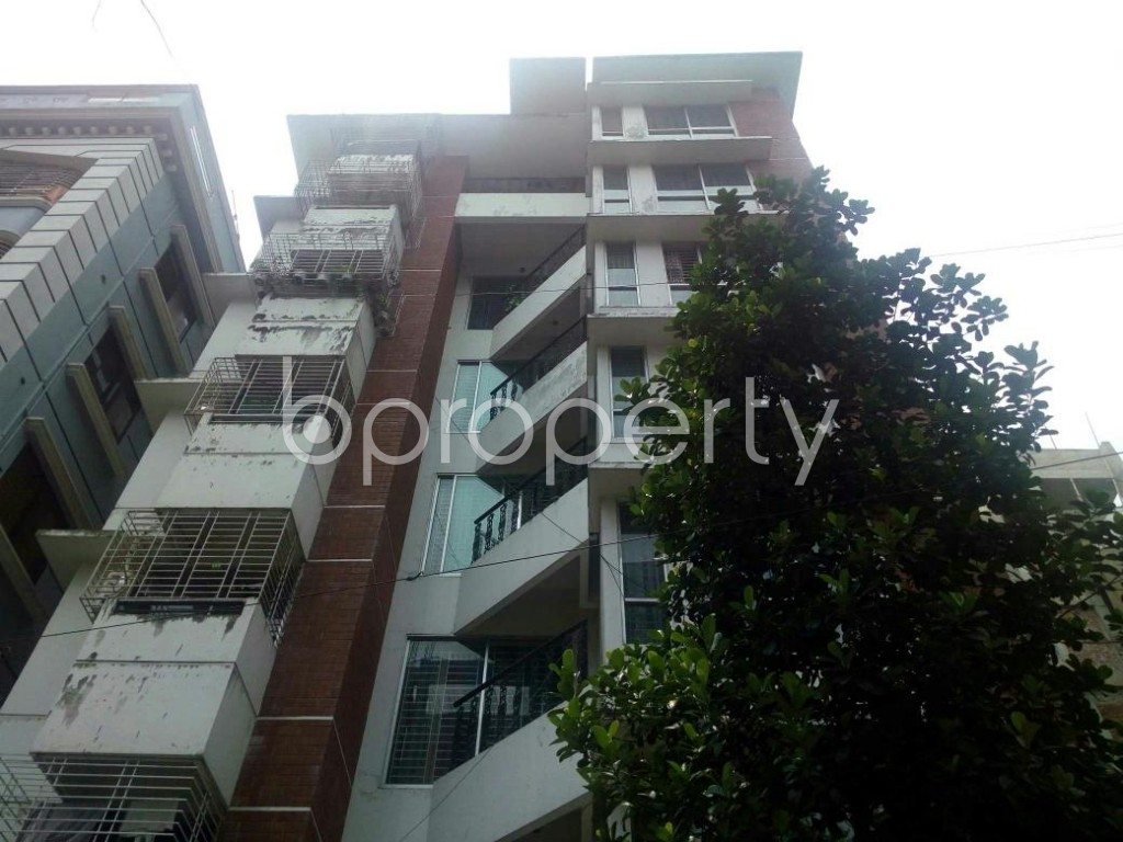 Front view - 3 Bed Apartment to Rent in Bashundhara R-A, Dhaka - 1889134