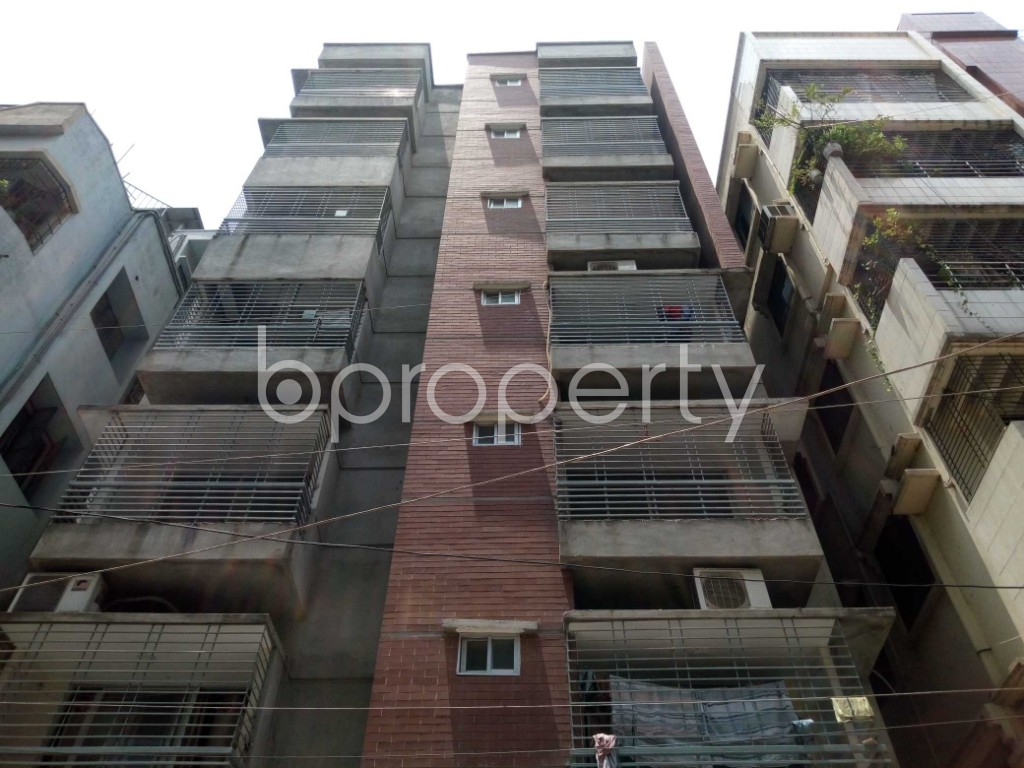 Front view - 3 Bed Apartment for Sale in Mohammadpur, Dhaka - 1887783
