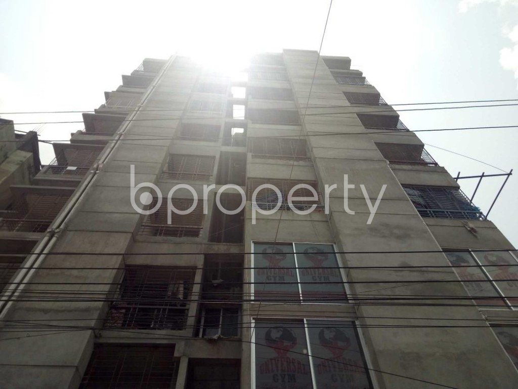 Front view - 3 Bed Apartment to Rent in Shyamoli, Dhaka - 1889206