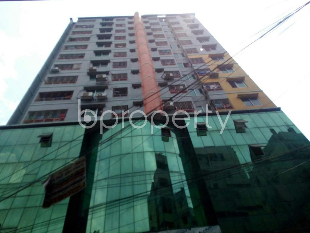 Front view - 3 Bed Apartment for Sale in Sutrapur, Dhaka - 1889234