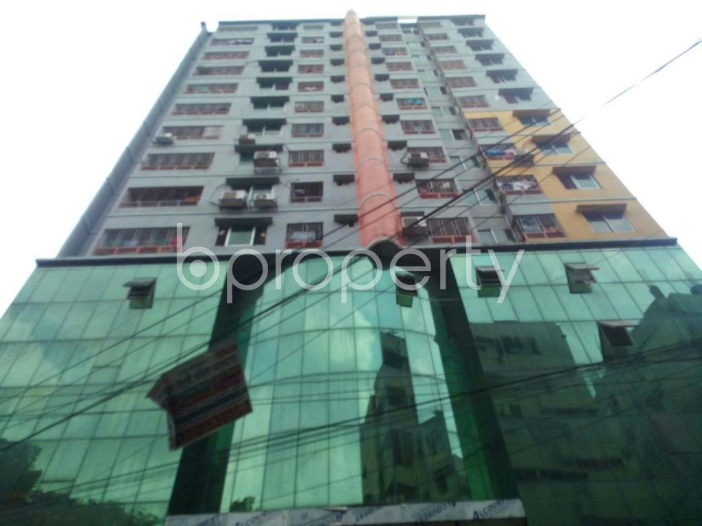 Front view - 3 Bed Apartment for Sale in Sutrapur, Dhaka - 1889236