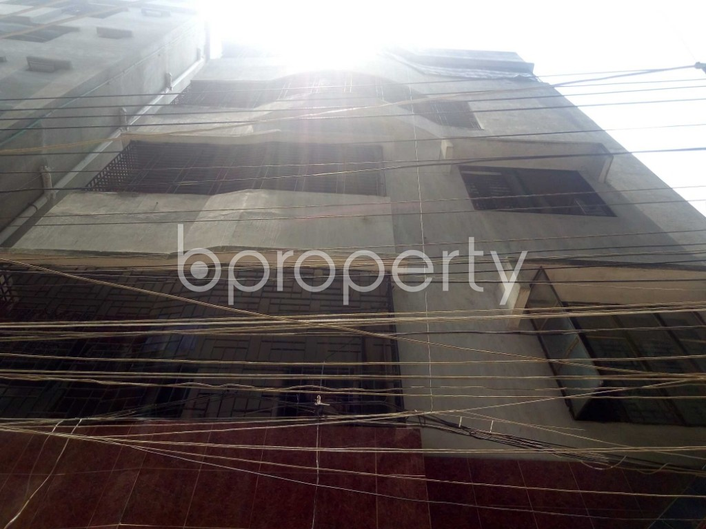 Front view - 3 Bed Apartment to Rent in Mirpur, Dhaka - 1889283