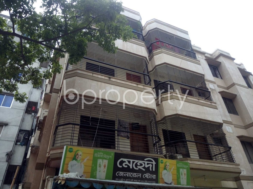 Outside view - 3 Bed Apartment to Rent in Banasree, Dhaka - 1889288