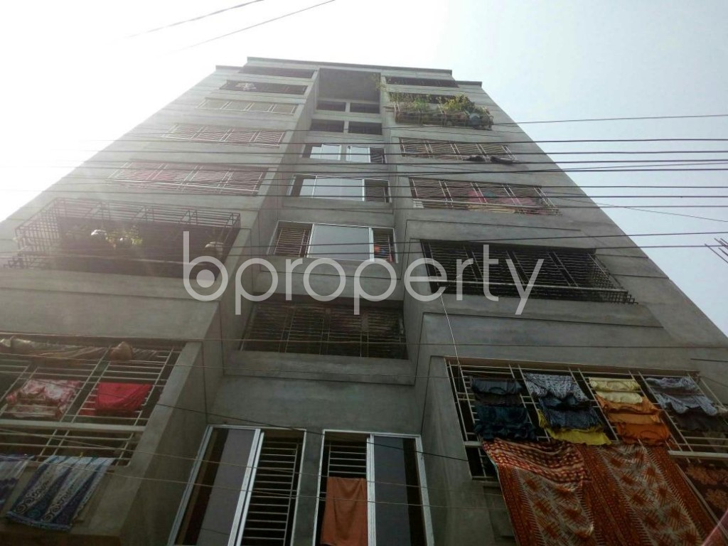 Front view - 1 Bed Apartment to Rent in Dakshin Khan, Dhaka - 1889289