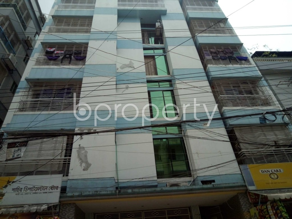 Front view - 3 Bed Apartment to Rent in Uttara, Dhaka - 1889317