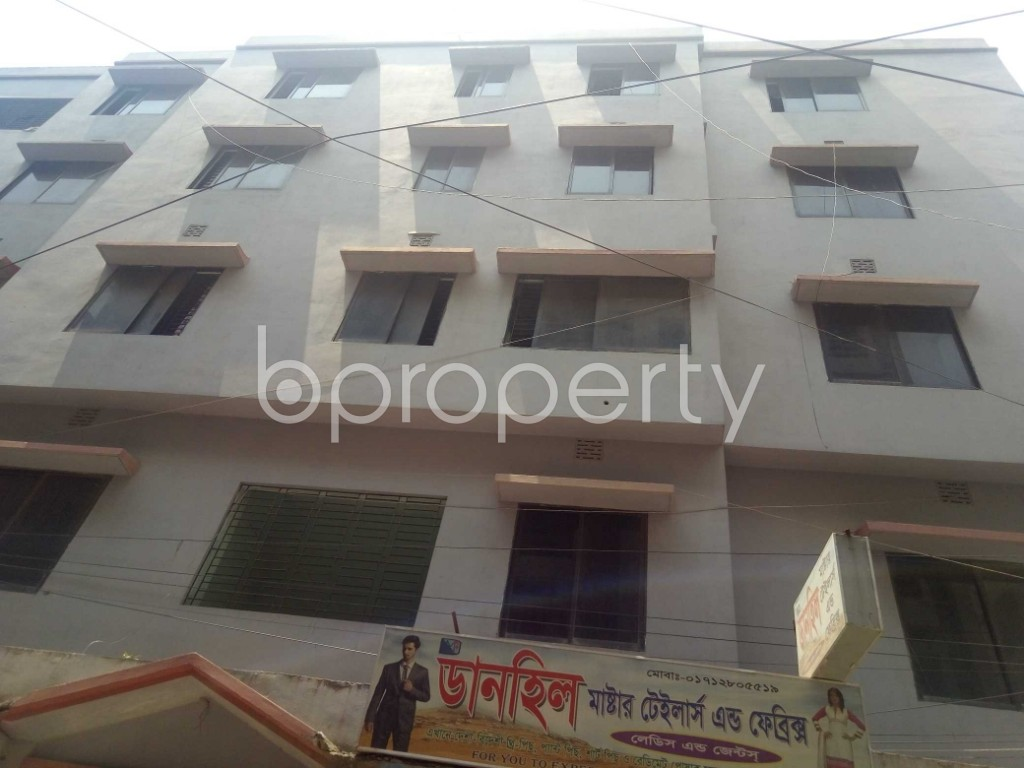 Front view - 1 Bed Apartment to Rent in Mirpur, Dhaka - 1889324