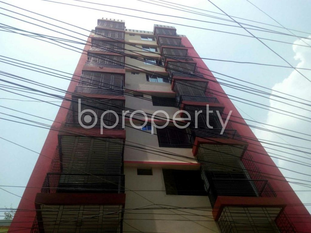 Front view - 3 Bed Apartment to Rent in Rampura, Dhaka - 1889335