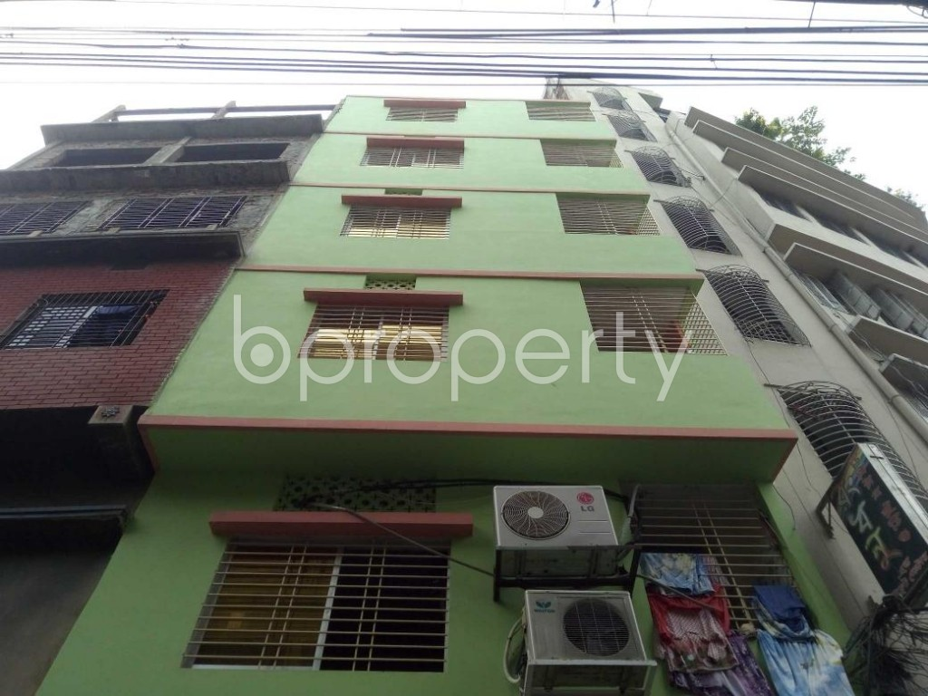Front view - 2 Bed Apartment for Sale in Bangshal, Dhaka - 1889506