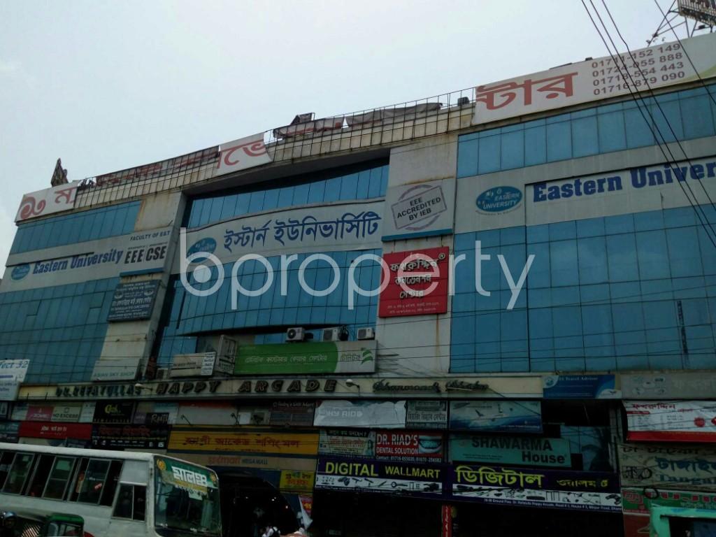Outside view - Shop for Sale in Dhanmondi, Dhaka - 1889658