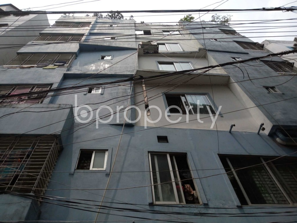 Front view - 3 Bed Apartment for Sale in Ibrahimpur, Dhaka - 1889875
