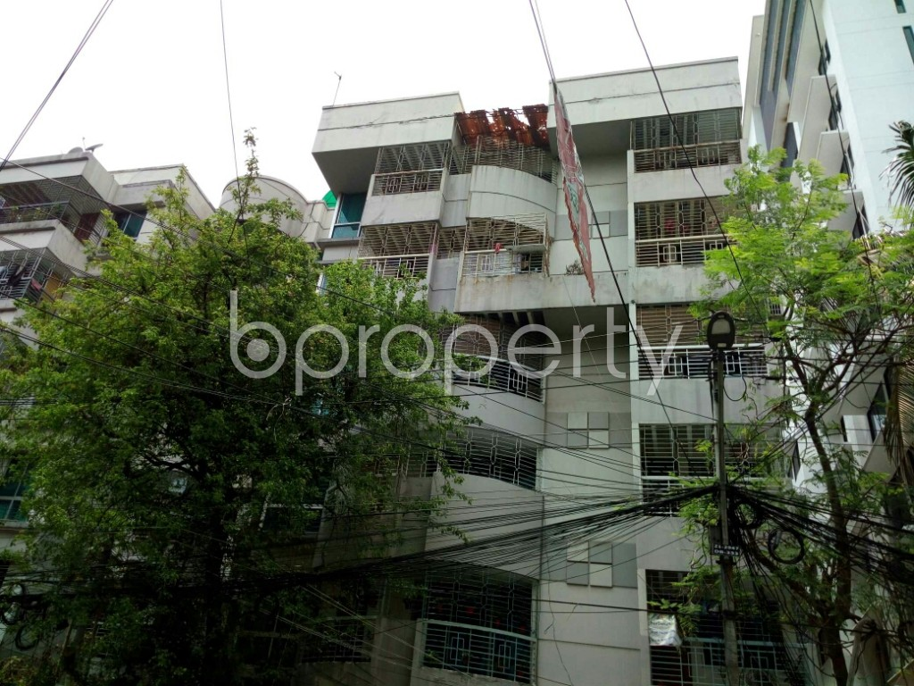 Outside view - 4 Bed Apartment to Rent in Dhanmondi, Dhaka - 1890082
