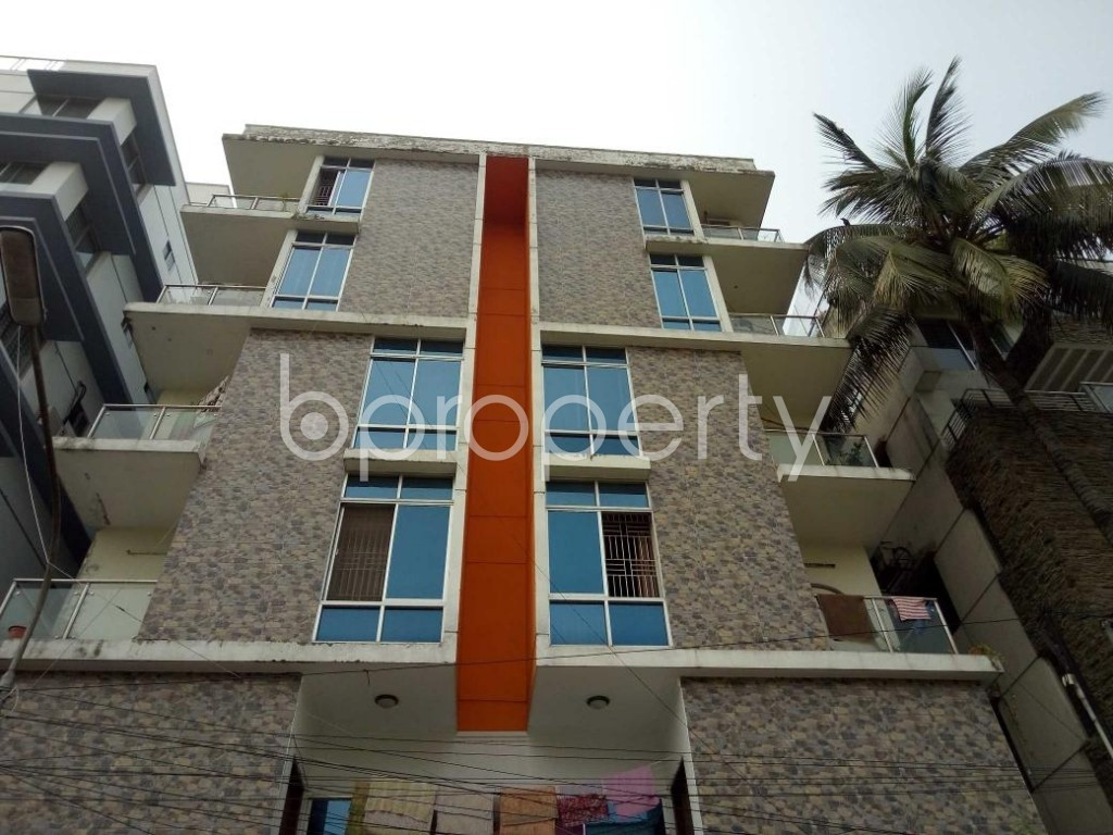 Front view - 3 Bed Apartment to Rent in Lalmatia, Dhaka - 1890608