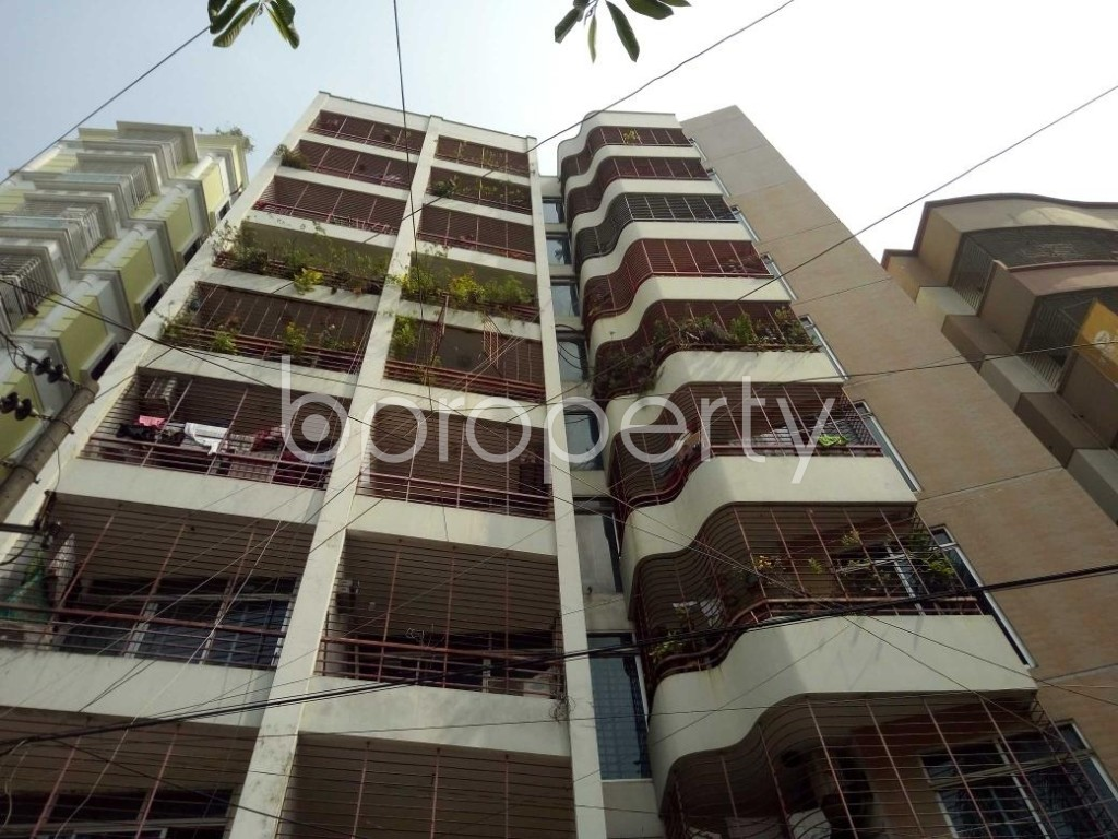 Front view - 3 Bed Apartment to Rent in Lalmatia, Dhaka - 1890667
