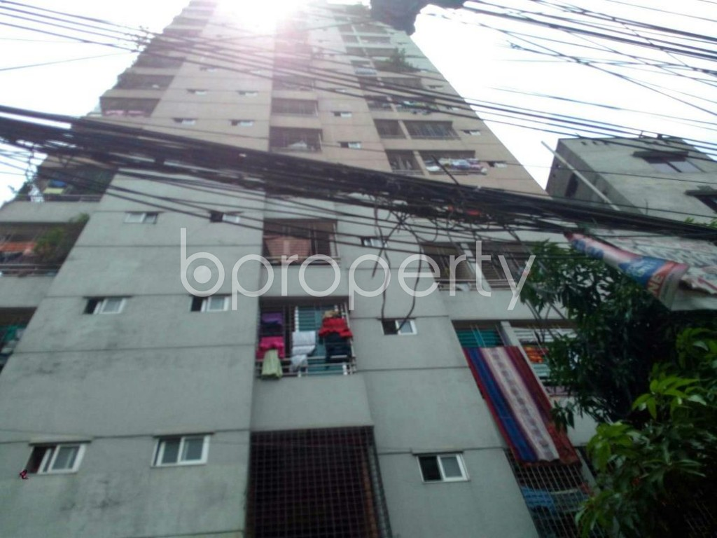 Front view - 3 Bed Apartment for Sale in Sutrapur, Dhaka - 1890753