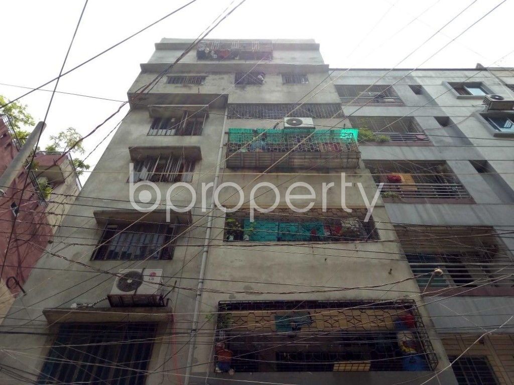 Front view - 3 Bed Apartment to Rent in Lalmatia, Dhaka - 1890782