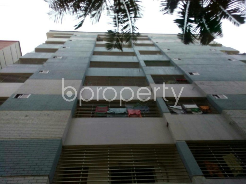 Front view - 3 Bed Apartment for Sale in Bagichagaon, Cumilla - 1891027