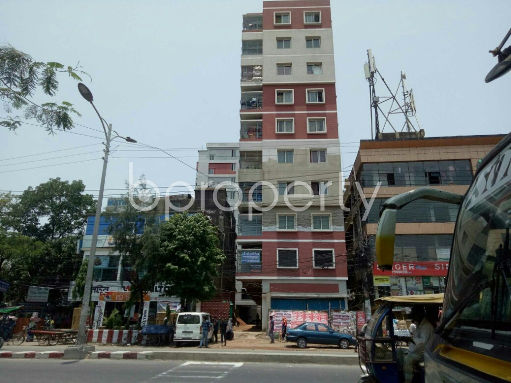 Outside view - 3 Bed Apartment for Sale in Halishahar, Chattogram - 1891227