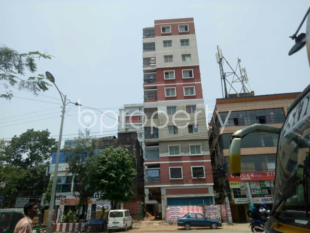 Outside view - 3 Bed Apartment for Sale in Halishahar, Chattogram - 1891228