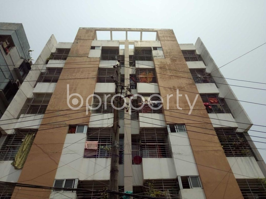 Front view - 2 Bed Apartment for Sale in Mohammadpur, Dhaka - 1891239