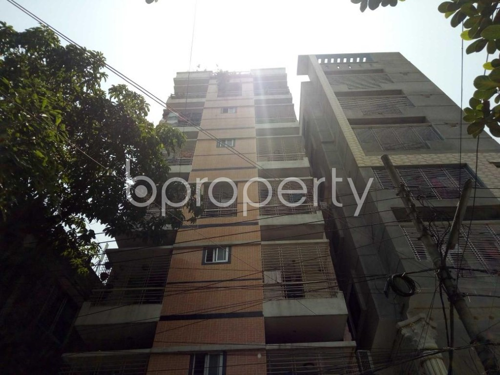 Front view - 2 Bed Apartment for Sale in Mohammadpur, Dhaka - 1891327