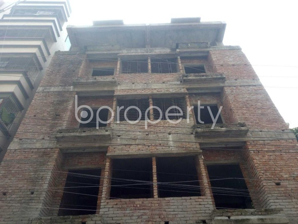 Front view - 2 Bed Apartment for Sale in Mirpur, Dhaka - 1892092