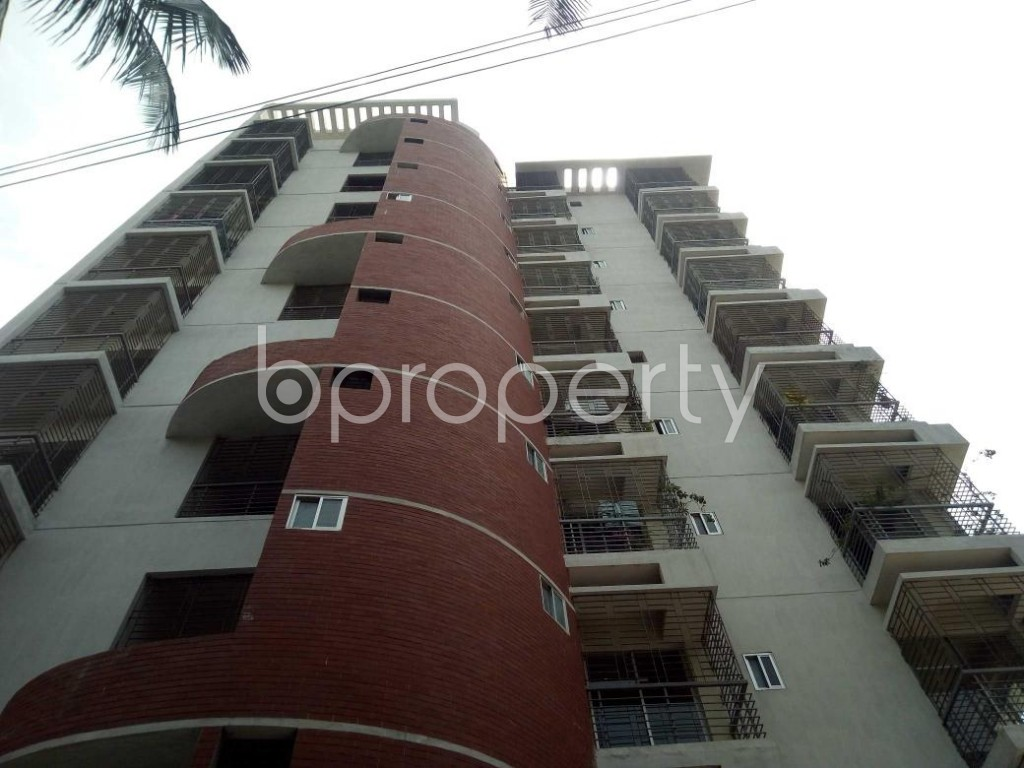 Front view - 3 Bed Apartment for Sale in Mirpur, Dhaka - 1892349