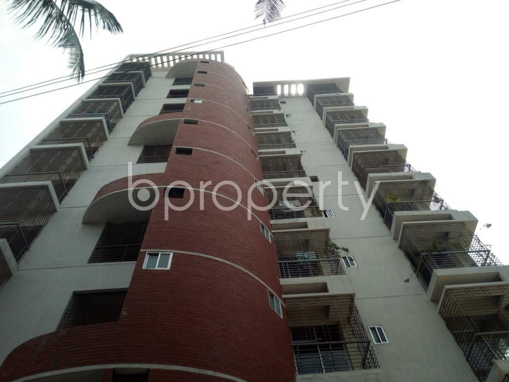 Front view - 3 Bed Apartment for Sale in Mirpur, Dhaka - 1892350