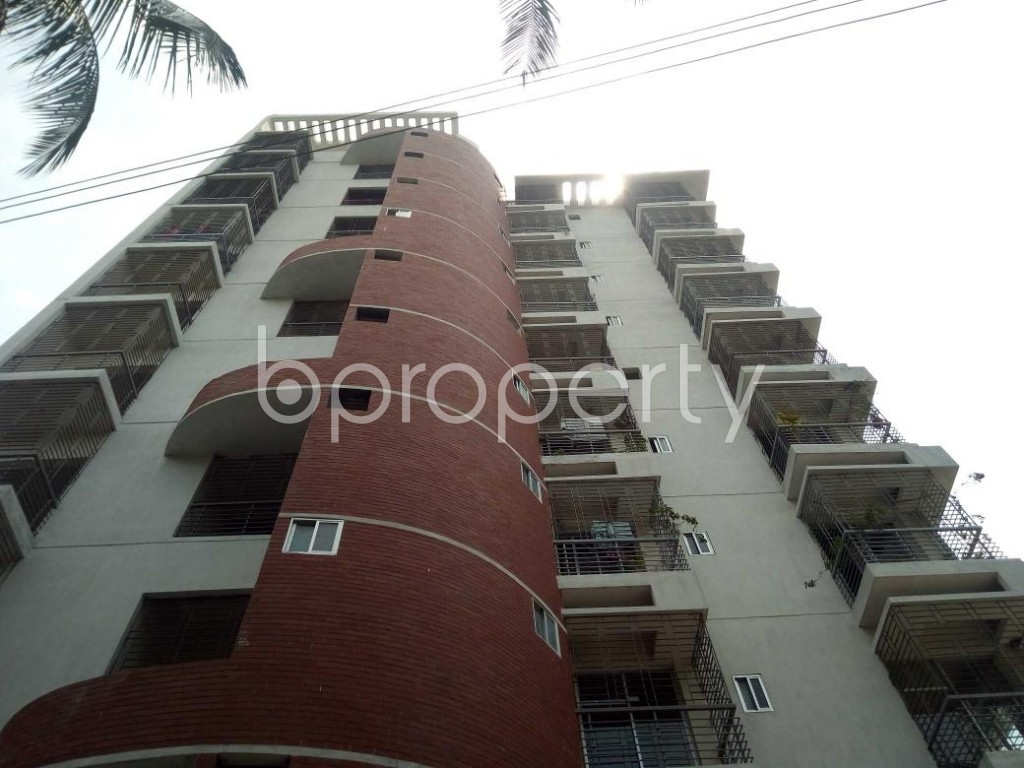 Front view - 3 Bed Apartment for Sale in Mirpur, Dhaka - 1892351