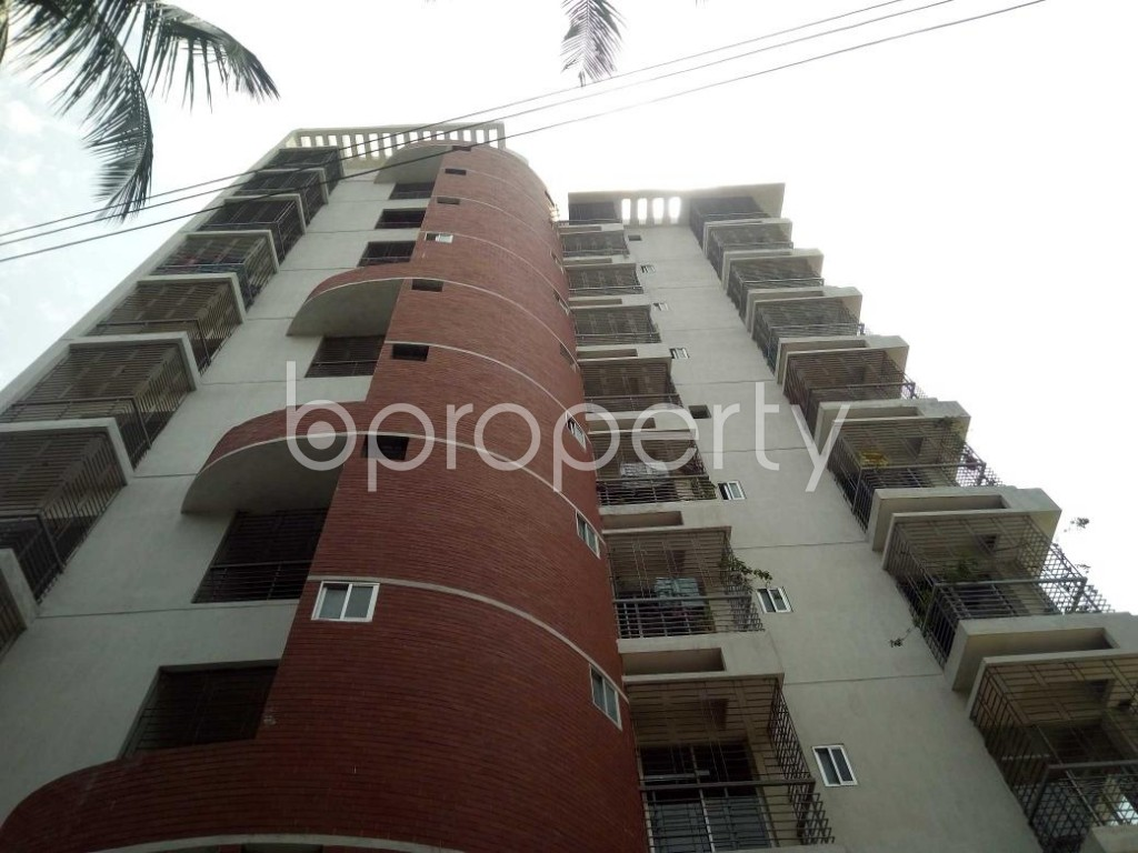 Front view - 3 Bed Apartment for Sale in Mirpur, Dhaka - 1892352