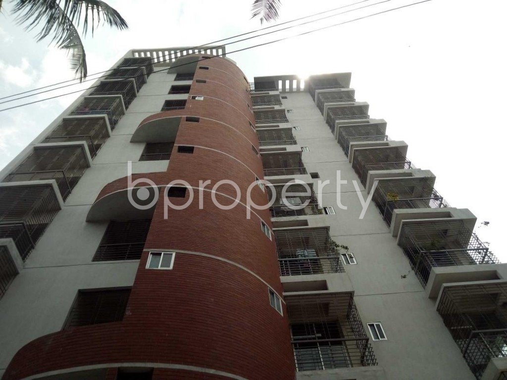 Front view - 3 Bed Apartment for Sale in Mirpur, Dhaka - 1892353