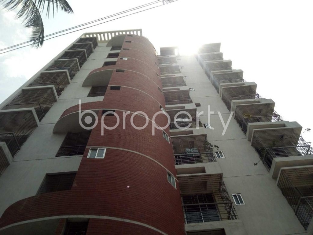 Front view - 3 Bed Apartment for Sale in Mirpur, Dhaka - 1892356