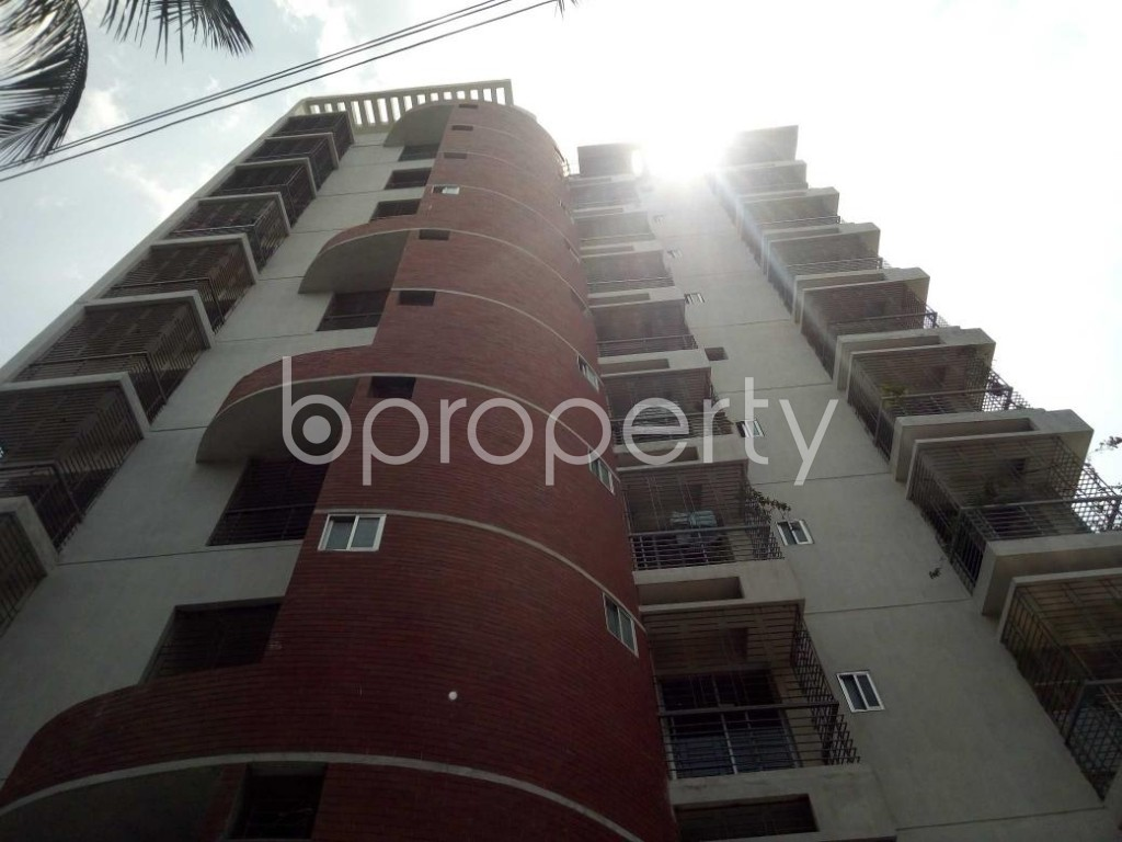 Front view - 3 Bed Apartment for Sale in Mirpur, Dhaka - 1892357