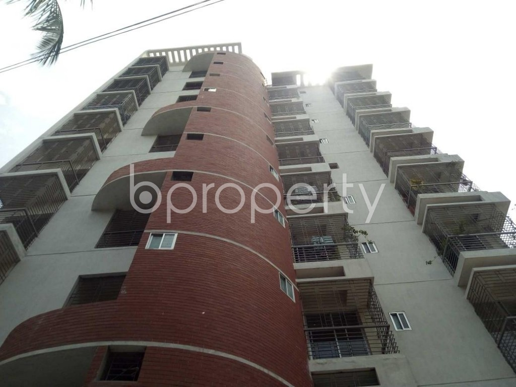 Front view - 3 Bed Apartment for Sale in Mirpur, Dhaka - 1892358
