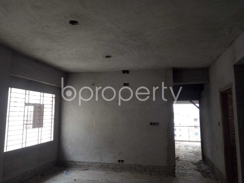 Dine/Dining - 3 Bed Apartment for Sale in Mirpur, Dhaka - 1892359