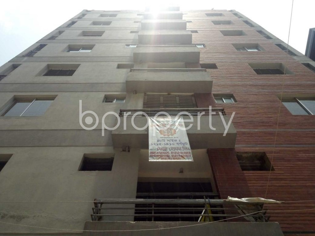 Front view - 3 Bed Apartment for Sale in Mirpur, Dhaka - 1892427