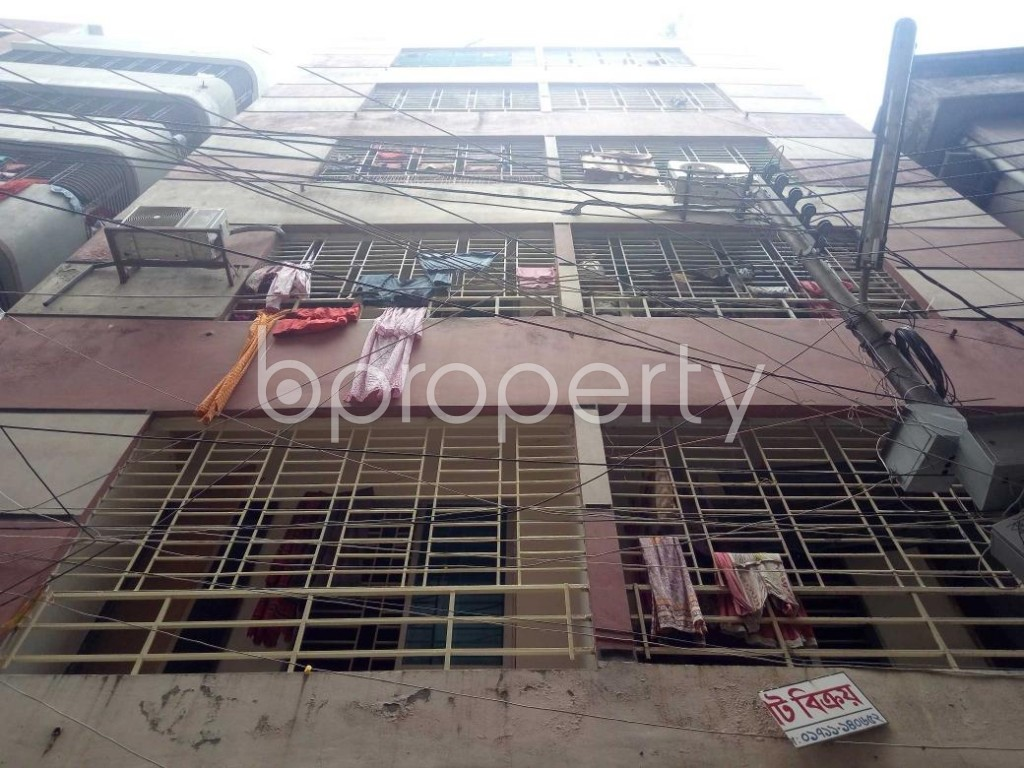 Front view - 2 Bed Apartment for Sale in Mirpur, Dhaka - 1892486