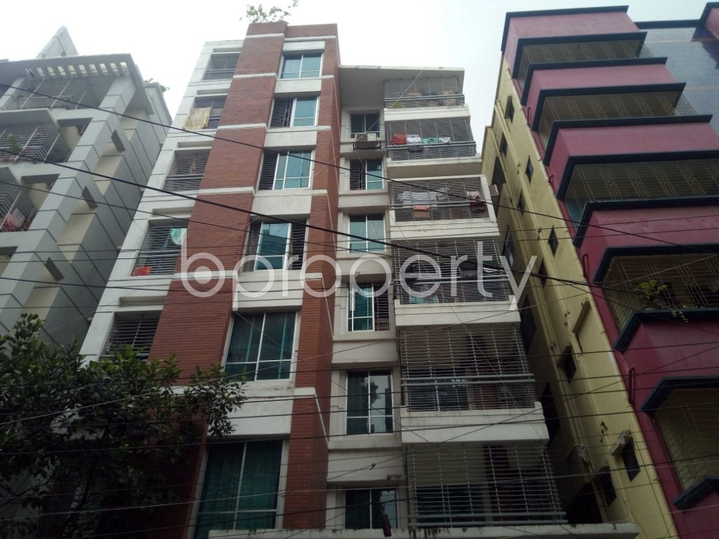 Front view - 3 Bed Apartment for Sale in Uttara, Dhaka - 1892507