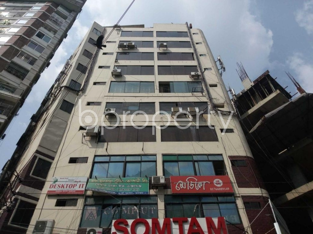 Front view - Office to Rent in Shantinagar, Dhaka - 1892981