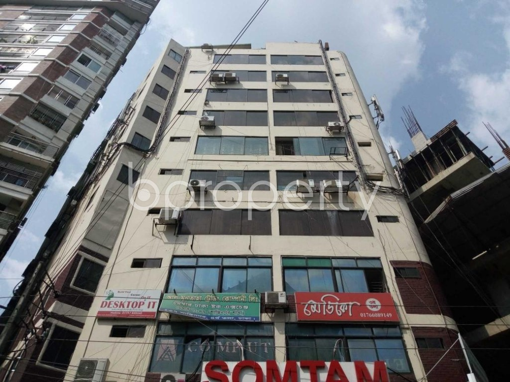 Front view - Office to Rent in Shantinagar, Dhaka - 1892982