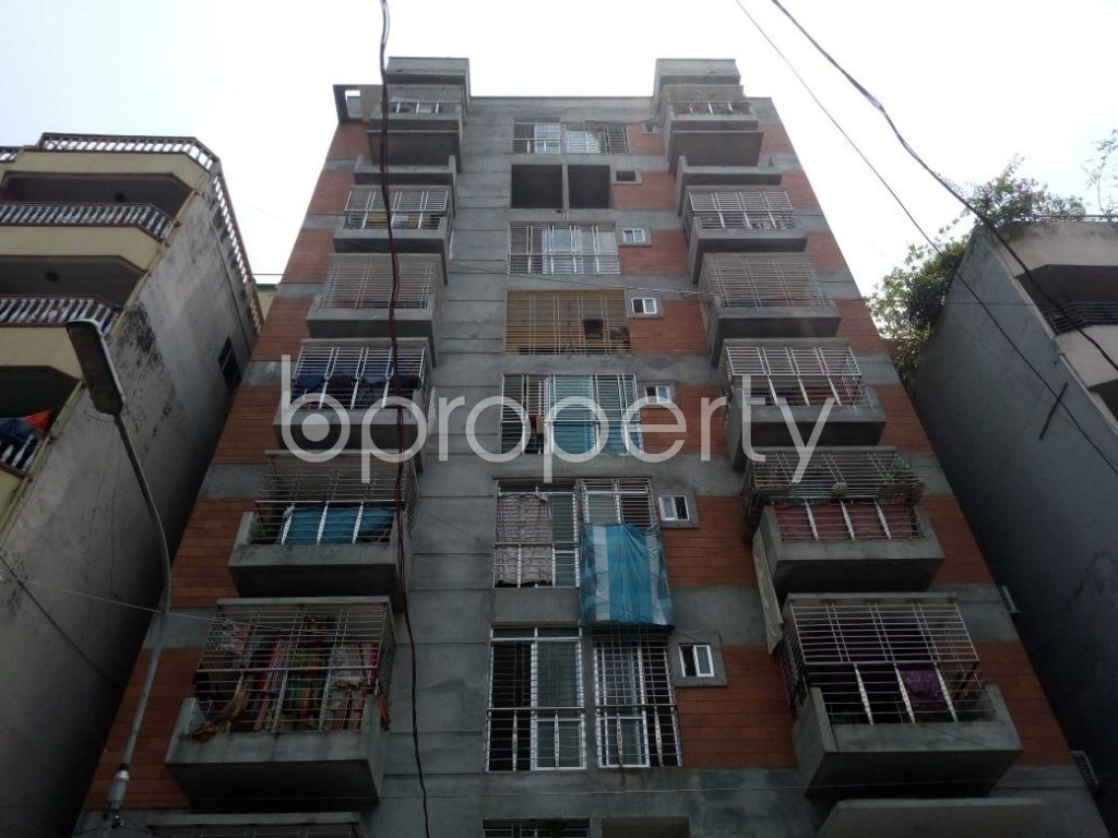 Front view - 2 Bed Apartment for Sale in Mohammadpur, Dhaka - 1893114