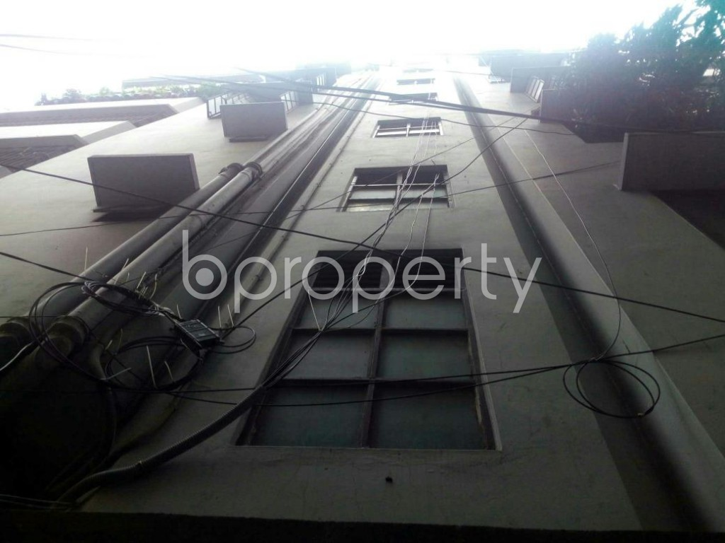 Front view - 1 Bed Apartment to Rent in Mohakhali, Dhaka - 1893441